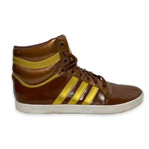 Vintage Basketball Mens adidas brown gold basketball sneaker Size 12